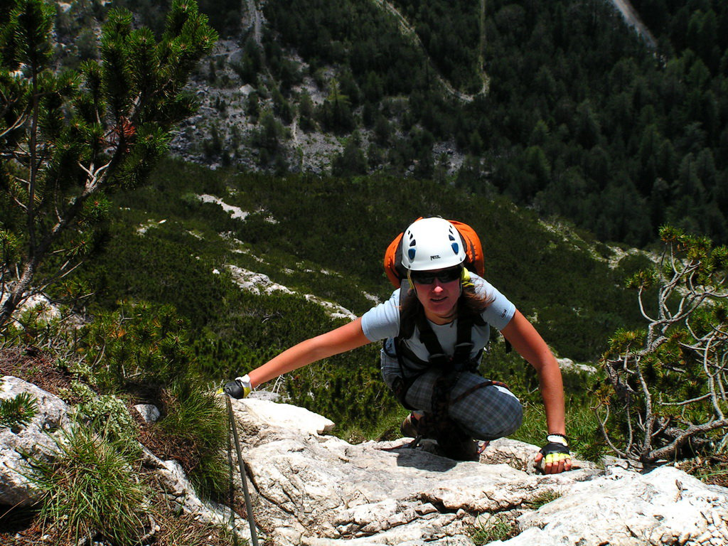 Dolomitas italianas - la via ferrata Michielli Strobel 13.jpg