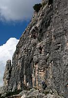 Dolomitas italianas - la via ferrata Michielli Strobel 01.jpg