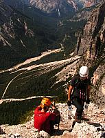 Dolomitas italianas - la via ferrata Michielli Strobel 02.jpg