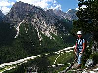 Dolomitas italianas - la via ferrata Michielli Strobel 03.jpg