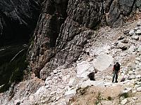 Dolomitas italianas - la via ferrata Michielli Strobel 06.jpg