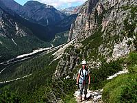 Dolomitas italianas - la via ferrata Michielli Strobel 07.jpg