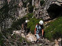 Dolomitas italianas - la via ferrata Michielli Strobel 08.jpg