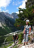 Dolomitas italianas - la via ferrata Michielli Strobel 10.jpg