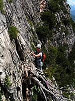 Dolomitas italianas - la via ferrata Michielli Strobel 12.jpg